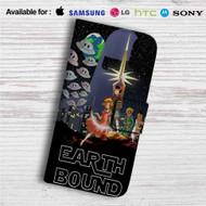 Star Wars Earthbound Custom Leather Wallet iPhone 4/4S 5S/C 6/6S Plus 7| Samsung Galaxy S4 S5 S6 S7 Note 3 4 5| LG G2 G3 G4| Motorola Moto X X2 Nexus 6| Sony Z3 Z4 Mini| HTC ONE X M7 M8 M9 Case