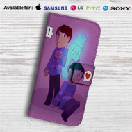 Dan and Phil Undertale Custom Leather Wallet iPhone 4/4S 5S/C 6/6S Plus 7| Samsung Galaxy S4 S5 S6 S7 Note 3 4 5| LG G2 G3 G4| Motorola Moto X X2 Nexus 6| Sony Z3 Z4 Mini| HTC ONE X M7 M8 M9 Case