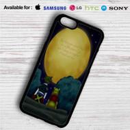 Sora Kingdom Hearts and Pooh Quotes iPhone 4/4S 5 S/C/SE 6/6S Plus 7  Samsung Galaxy S4 S5 S6 S7 NOTE 3 4 5  LG G2 G3 G4  MOTOROLA MOTO X X2 NEXUS 6  SONY Z3 Z4 MINI  HTC ONE X M7 M8 M9 M8 MINI CASE