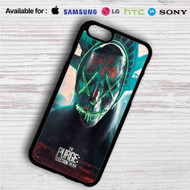 The Purge Election Year iPhone 4/4S 5 S/C/SE 6/6S Plus 7| Samsung Galaxy S4 S5 S6 S7 NOTE 3 4 5| LG G2 G3 G4| MOTOROLA MOTO X X2 NEXUS 6| SONY Z3 Z4 MINI| HTC ONE X M7 M8 M9 M8 MINI CASE