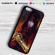 Vincent Valentine Final Fantasy VII iPhone 4/4S 5 S/C/SE 6/6S Plus 7| Samsung Galaxy S4 S5 S6 S7 NOTE 3 4 5| LG G2 G3 G4| MOTOROLA MOTO X X2 NEXUS 6| SONY Z3 Z4 MINI| HTC ONE X M7 M8 M9 M8 MINI CASE
