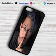 World's Quietest Markiplier iPhone 4/4S 5 S/C/SE 6/6S Plus 7| Samsung Galaxy S4 S5 S6 S7 NOTE 3 4 5| LG G2 G3 G4| MOTOROLA MOTO X X2 NEXUS 6| SONY Z3 Z4 MINI| HTC ONE X M7 M8 M9 M8 MINI CASE