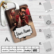 Brendon Urie Custom Leather Luggage Tag