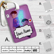 Dan and Phil Undertale Custom Leather Luggage Tag
