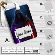Darth Revan Star Wars Custom Leather Luggage Tag