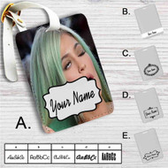 Kylie Jenner Custom Leather Luggage Tag