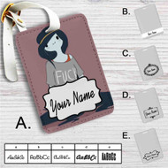 Marceline The Vampire Queen Custom Leather Luggage Tag
