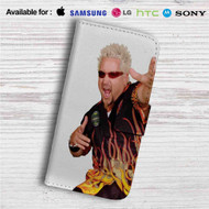 Guy Fieri Custom Leather Wallet iPhone 4/4S 5S/C 6/6S Plus 7| Samsung Galaxy S4 S5 S6 S7 Note 3 4 5| LG G2 G3 G4| Motorola Moto X X2 Nexus 6| Sony Z3 Z4 Mini| HTC ONE X M7 M8 M9 Case