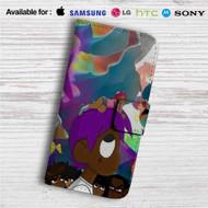 Lil Uzi Vert Custom Leather Wallet iPhone 4/4S 5S/C 6/6S Plus 7| Samsung Galaxy S4 S5 S6 S7 Note 3 4 5| LG G2 G3 G4| Motorola Moto X X2 Nexus 6| Sony Z3 Z4 Mini| HTC ONE X M7 M8 M9 Case