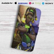Lucio Overwatch Custom Leather Wallet iPhone 4/4S 5S/C 6/6S Plus 7| Samsung Galaxy S4 S5 S6 S7 Note 3 4 5| LG G2 G3 G4| Motorola Moto X X2 Nexus 6| Sony Z3 Z4 Mini| HTC ONE X M7 M8 M9 Case