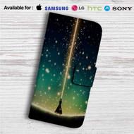 Saber Fate Stay Night Custom Leather Wallet iPhone 4/4S 5S/C 6/6S Plus 7| Samsung Galaxy S4 S5 S6 S7 Note 3 4 5| LG G2 G3 G4| Motorola Moto X X2 Nexus 6| Sony Z3 Z4 Mini| HTC ONE X M7 M8 M9 Case
