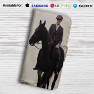 Thomas Shelby Peaky Blinders Custom Leather Wallet iPhone 4/4S 5S/C 6/6S Plus 7| Samsung Galaxy S4 S5 S6 S7 Note 3 4 5| LG G2 G3 G4| Motorola Moto X X2 Nexus 6| Sony Z3 Z4 Mini| HTC ONE X M7 M8 M9 Case