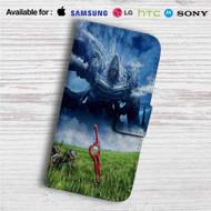 Xenoblade Chronicles Custom Leather Wallet iPhone 4/4S 5S/C 6/6S Plus 7| Samsung Galaxy S4 S5 S6 S7 Note 3 4 5| LG G2 G3 G4| Motorola Moto X X2 Nexus 6| Sony Z3 Z4 Mini| HTC ONE X M7 M8 M9 Case