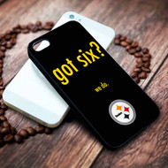 Pittsburgh Steelers 3 on your case iphone 4 4s 5 5s 5c 6 6plus 7 case / cases