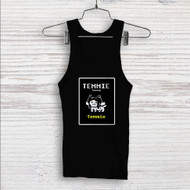 Temmie Undertale Custom Men Woman Tank Top T Shirt Shirt