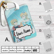 Shulk and Rosalina Super Smash Bros Custom Leather Luggage Tag