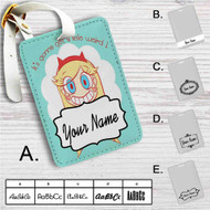 Star vs The Forces of Evil Custom Leather Luggage Tag