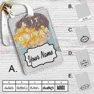 Troye Sivan Custom Leather Luggage Tag