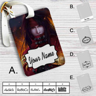 Vincent Valentine Final Fantasy VII Custom Leather Luggage Tag
