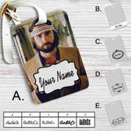 Wes Anderson Custom Leather Luggage Tag