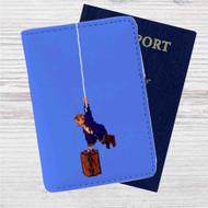 Descargar Monkey Island 2 Custom Leather Passport Wallet Case Cover