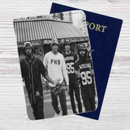Flatbush Zombies Band Custom Leather Passport Wallet Case Cover