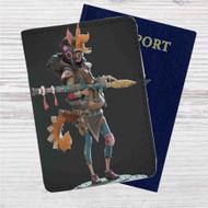 Fury Beats Lily Slash Custom Leather Passport Wallet Case Cover