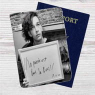 La Poésie Est Dans La Rue The 1975 Custom Leather Passport Wallet Case Cover