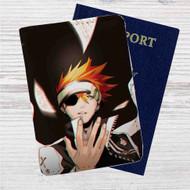 Lavi D Gray Man Custom Leather Passport Wallet Case Cover