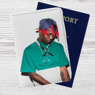 Lil Yachty Custom Leather Passport Wallet Case Cover