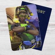 Lucio Overwatch Custom Leather Passport Wallet Case Cover