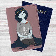 Marceline The Vampire Queen Custom Leather Passport Wallet Case Cover