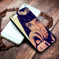Pulp Fiction Mia Wallace on your case iphone 4 4s 5 5s 5c 6 6plus 7 case / cases