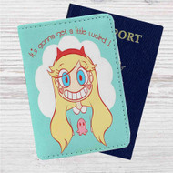 Star vs The Forces of Evil Custom Leather Passport Wallet Case Cover