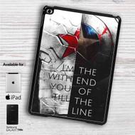 """Bucky and Captain America Quotes iPad 2 3 4 iPad Mini 1 2 3 4 iPad Air 1 2   Samsung Galaxy Tab 10.1"""" Tab 2 7"""" Tab 3 7"""" Tab 3 8"""" Tab 4 7"""" Case"""