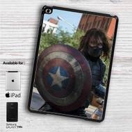 """Bucky With Shield iPad 2 3 4 iPad Mini 1 2 3 4 iPad Air 1 2   Samsung Galaxy Tab 10.1"""" Tab 2 7"""" Tab 3 7"""" Tab 3 8"""" Tab 4 7"""" Case"""