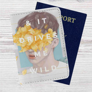 Troye Sivan Custom Leather Passport Wallet Case Cover