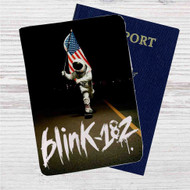 Blink 182 Since 1992 Custom Leather Passport Wallet Case Cover