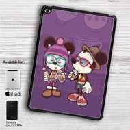 "Hipster Mickey Mouse and Minnie Mouse iPad 2 3 4 iPad Mini 1 2 3 4 iPad Air 1 2 | Samsung Galaxy Tab 10.1"" Tab 2 7"" Tab 3 7"" Tab 3 8"" Tab 4 7"" Case"