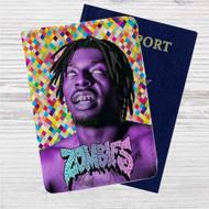 Flatbush Zombies Music Custom Leather Passport Wallet Case Cover