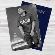 Kendrick Lamar Custom Leather Passport Wallet Case Cover