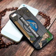 raptor training jurassic park world on your case iphone 4 4s 5 5s 5c 6 6plus 7 case / cases