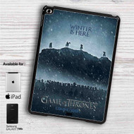 "Winter is Here Game of Thrones Season 7 iPad 2 3 4 iPad Mini 1 2 3 4 iPad Air 1 2 | Samsung Galaxy Tab 10.1"" Tab 2 7"" Tab 3 7"" Tab 3 8"" Tab 4 7"" Case"
