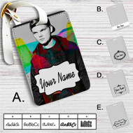 Avicii Custom Leather Luggage Tag