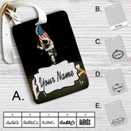 Blink 182 Since 1992 Custom Leather Luggage Tag