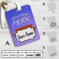 Central Perk Friends TV Custom Leather Luggage Tag