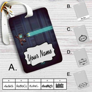 Dead Space Megaman Custom Leather Luggage Tag