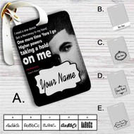 Drake Feat WizKid and Kyla One Dance Custom Leather Luggage Tag