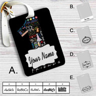 Friends TV Quotes Custom Leather Luggage Tag