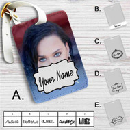 Katy Perry Rise Custom Leather Luggage Tag